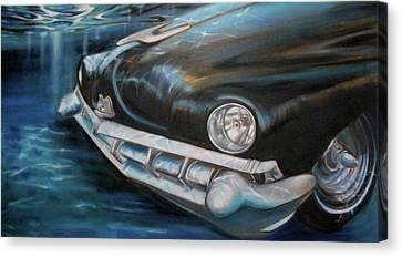 Bottom Feeder Canvas Print by Kaytee Esser