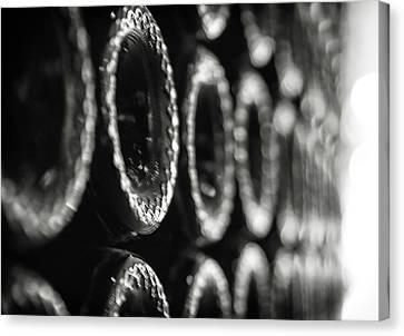 Canvas Print featuring the photograph Bottoms Up by Lora Lee Chapman