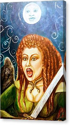 Boudicca  Let Not Our Daughters Be Forgotten Canvas Print
