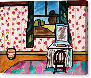 Boudoir Canvas Print by John  Williams