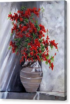 Bougainvillia Canvas Print