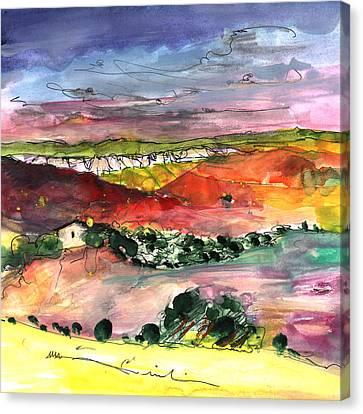 Bouges 02 Canvas Print by Miki De Goodaboom