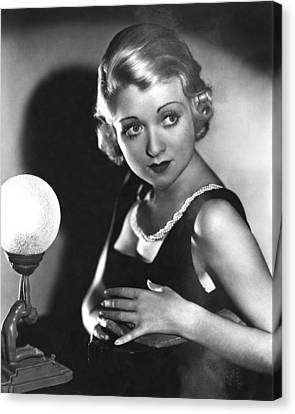 Bought, Constance Bennett, 1931 Canvas Print by Everett
