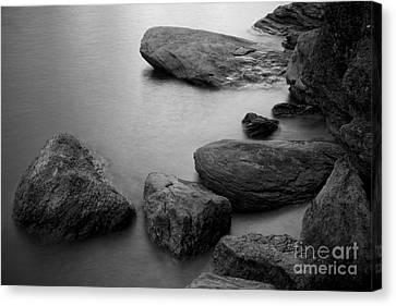 Boulders Canvas Print by Idaho Scenic Images Linda Lantzy