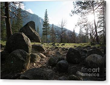 Canvas Print - Boulders Yosemite National Park by Terry Garvin
