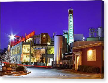 Boulevard Brewing Kansas City Canvas Print