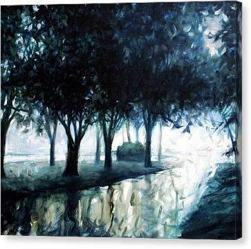 Boulevard Canvas Print by Kevin Lawrence Leveque