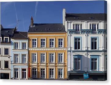 Boulogne Skies Canvas Print by Jez C Self