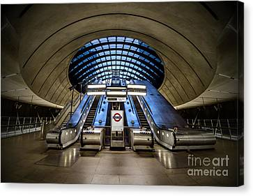 Bound For The Underground Canvas Print by Evelina Kremsdorf