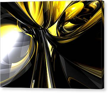 Bounded By Light Abstract Canvas Print by Alexander Butler