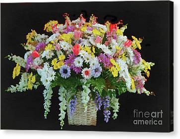 Bountiful Bouquet Canvas Print