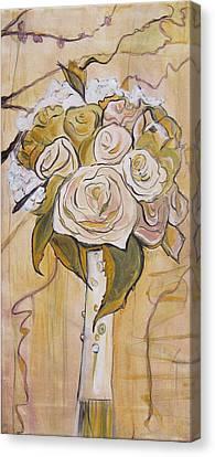 Bouquet Canvas Print by Carrie Jackson