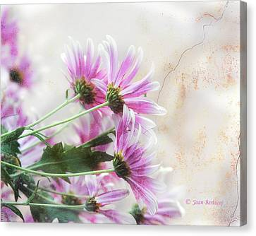 Canvas Print featuring the photograph Bouquet In Pink by Joan Bertucci