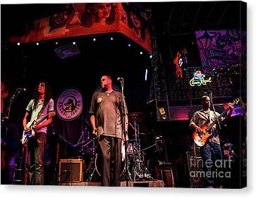 Bourbon Street Blues Band 5 Canvas Print