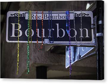 Bourbon Street Canvas Print