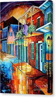Bourbon Street Song Canvas Print by Diane Millsap