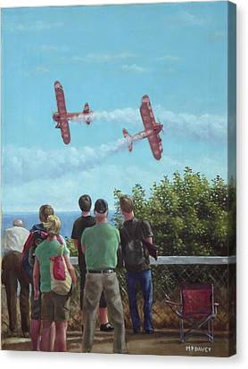 Bournemouth Air Festival Canvas Print by Martin Davey