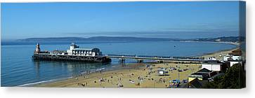 Bournemouth Pier Dorset - May 2010 Canvas Print