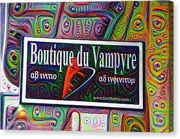 Boutique Du Vampyre -  New Orleans Canvas Print