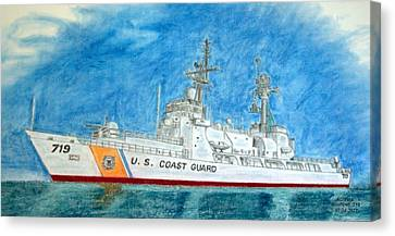 Boutwell-u.s.coast Guard 719 Canvas Print