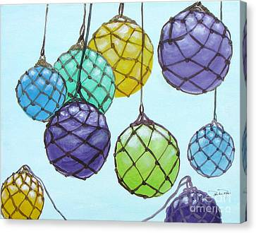 Bouy Balls Canvas Print by Pauline Ross