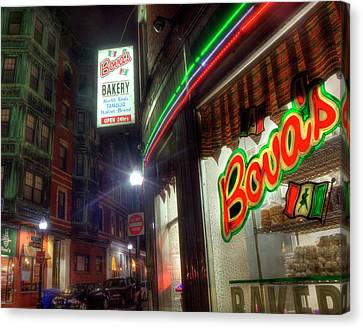 Bova's Bakery - North End - Boston Canvas Print by Joann Vitali