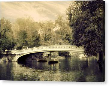 Bow Bridge Dreaming Canvas Print by Jessica Jenney