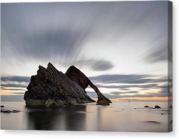 Bow Fiddle Rock At Sunrise Canvas Print