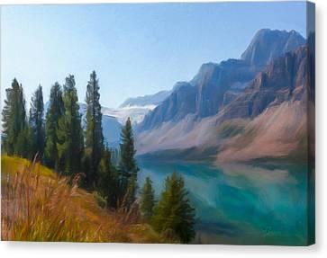 Bow Lake Canvas Print