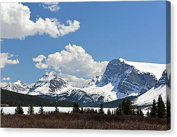 Bow Lake Vista Canvas Print