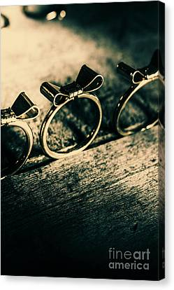 Pairs Canvas Print - Bow Tie Event by Jorgo Photography - Wall Art Gallery