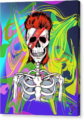 Bowie 1 Canvas Print by Andre Peraza