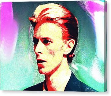Bowie 1  Canvas Print