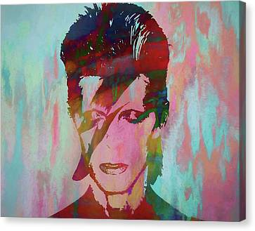 Bowie Reflection Canvas Print