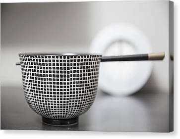 Bowl - Fortune Canvas Print by Cho Me