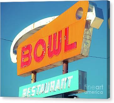 Bowl Tonight Canvas Print