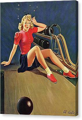 Canvas Print - Bowling Accident by Long Shot