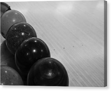 Bowling Canvas Print by Edward Myers