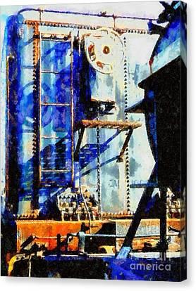 Boxcar Blues - Scranton Pa Canvas Print