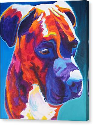 Boxer - Jax Canvas Print by Alicia VanNoy Call