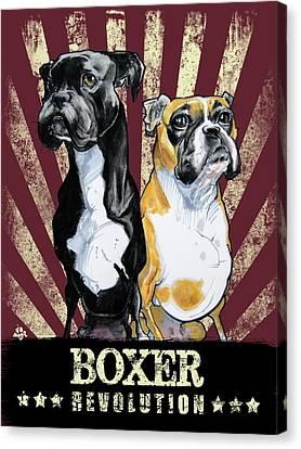 Canvas Print - Boxer Revolution by John LaFree