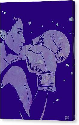 Boxe Canvas Print - Boxing Club 2 by Giuseppe Cristiano