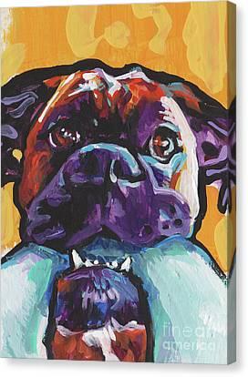 Boxy Boxer Canvas Print by Lea
