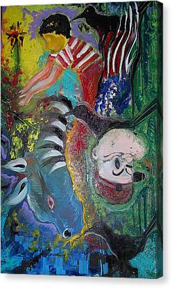 Boy Full Of Life Canvas Print by Ottoniel Lima and Stephen Barry