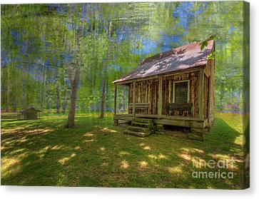 Boyer Cabin  Canvas Print