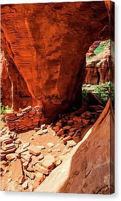 Boynton Canyon 04-647 Canvas Print by Scott McAllister