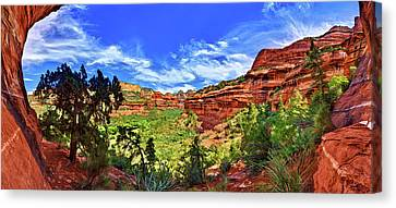 Boynton Canyon Canvas Print by ABeautifulSky Photography