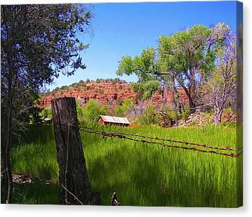 Boynton Canyon Arizona Canvas Print by Jen White