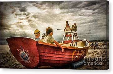 Boys Of Summer Cape May New Jersey Canvas Print