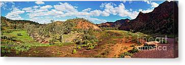 Canvas Print featuring the photograph Bracchina Gorge Flinders Ranges South Australia by Bill Robinson